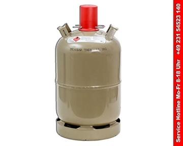 Heizpilz Gasflasche 11kg leer -