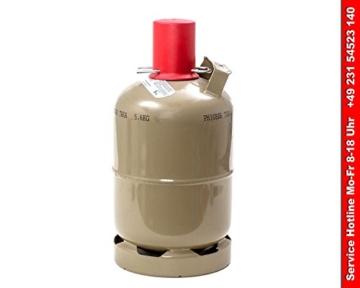 Heizpilz Gasflasche 5kg leer -