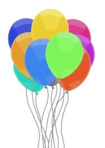 Heizpilz im Zelt ballons